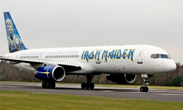 Iron Maiden Ed Force One 757